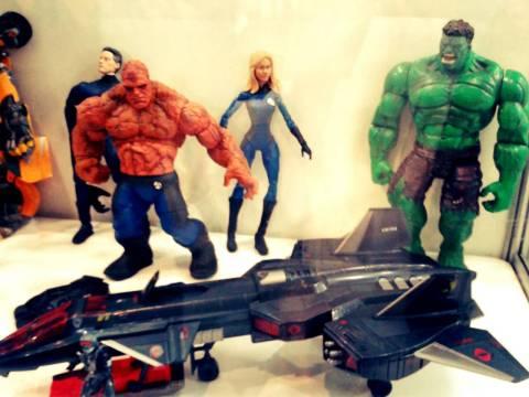 Quarteto Fantástico & Hulk