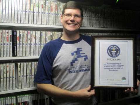 A maior coleção de games do mundo segundo o Guiness - 17