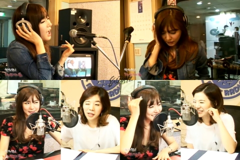 Tiffany & Sunny - MBC FM4U's FMDate 140702
