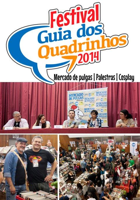 Mercado de Pulgas agora é Festival Guia dos Quadrinhos