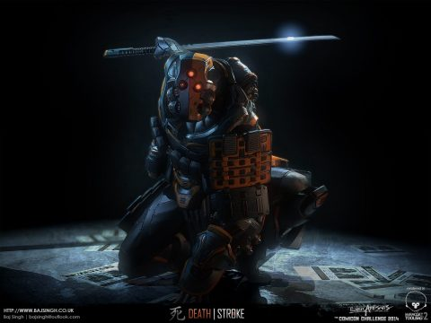 Deathstroke por Baj Singh