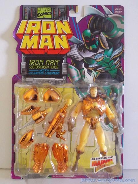 Iron Man Subterranean Armor