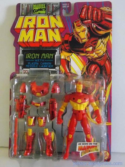 Iron Man w/ Plasma Cannon Missile Launcher