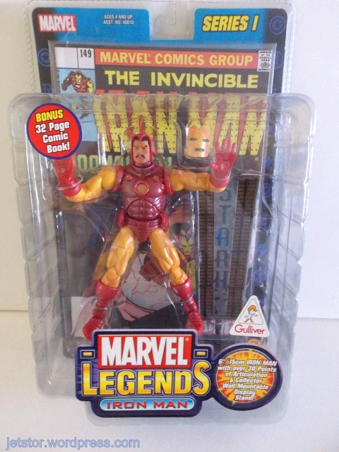 Marvel Legends Tony Stark/Iron Man