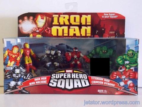Iron Man Superhero Squad Set 1