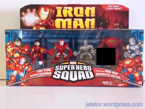 Iron Man Superhero Squad Set 2