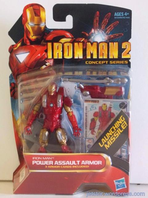 Iron Man Power Assault Armor