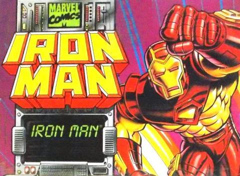 Iron Man Marvel Action Hour ToyBiz Logo