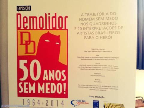 Exposição Demolidor 50 anos