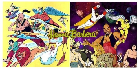 Hanna Barbera superheroes
