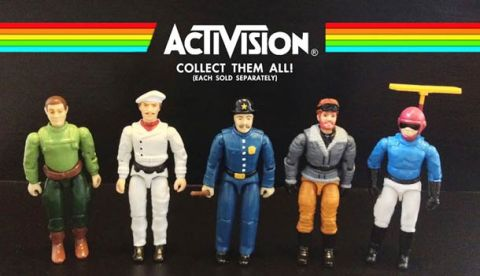 Atari Action Figures - Dan Polydoris