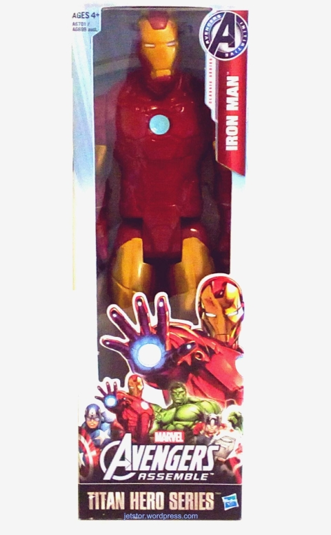 Avengers Assemble - Iron Man Titan Hero Series