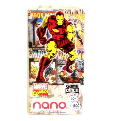 Iron Man Quebra-Cabeça 500 peças Nano