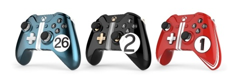 Ford GT Xbox One controllers