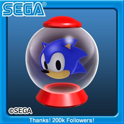 Sonic toy capsule