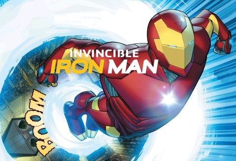 Invincible Iron Man #1 (2015)