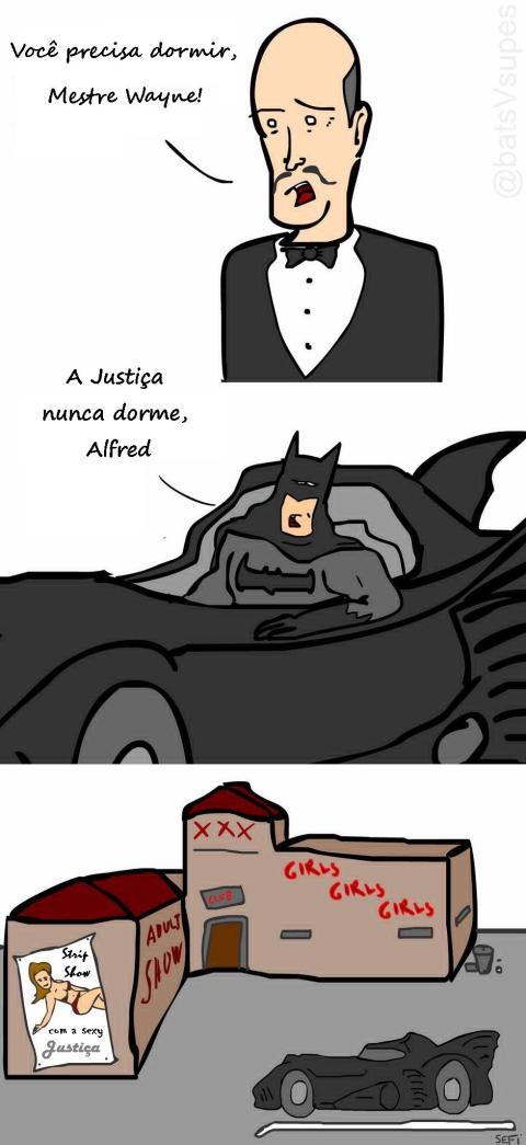 A Justiça nunca dorme