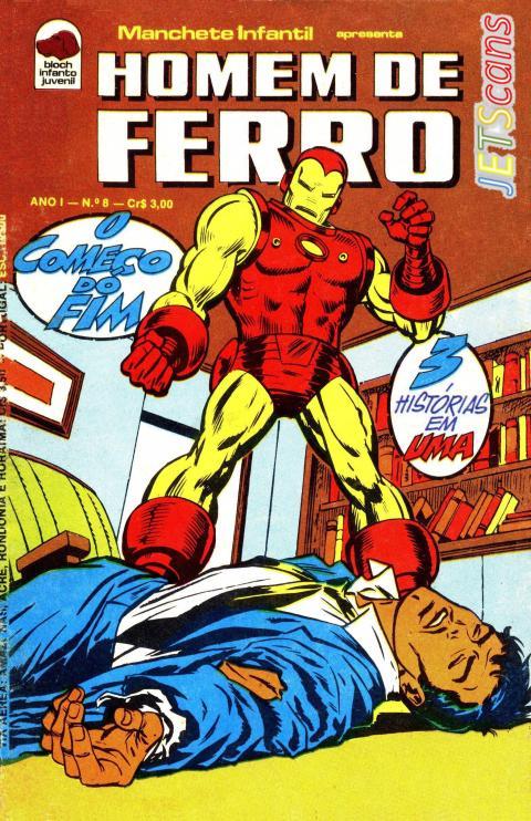 Homem de Ferro #08 Bloch nov 1975 capa