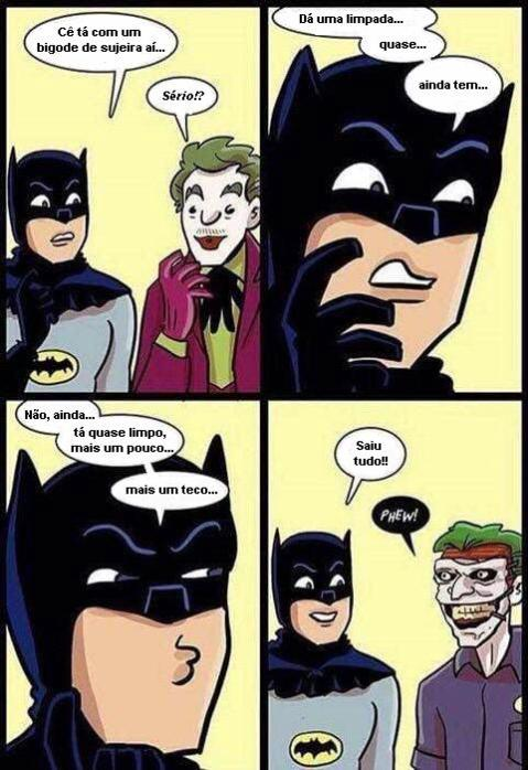 O bigode do coringa
