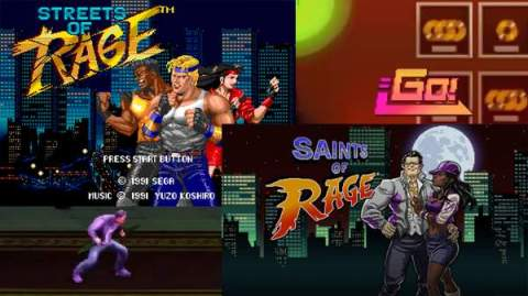 Saints of Rage vs Streets of Rage