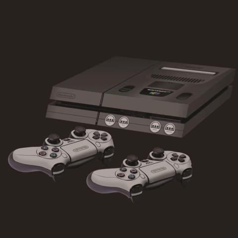 PS4 N64 skin