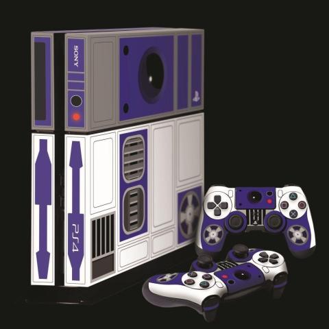 PS4 Star Wars R2D2 skin