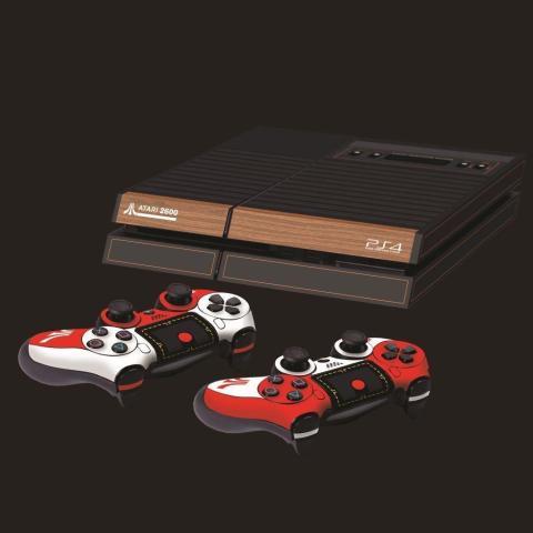 PS4 Atari 2600 skin