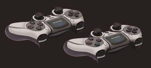 PS4 Dreamcast controller skin