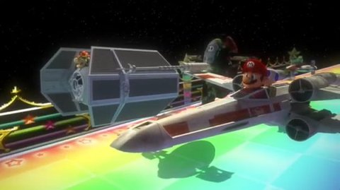 Star Wars vs Mario Kart