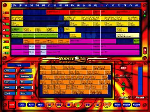 Dance eJay (1997) interface