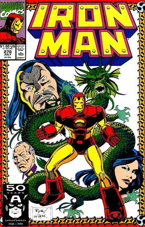 Iron Man v1 270 (1991) - Paul Rtan & Bob Wiacek
