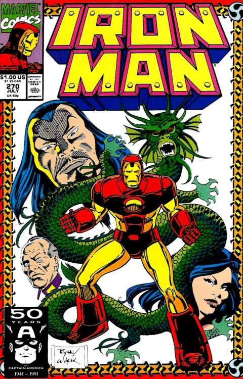 Iron Man v1 270 (1991) - Paul Rtan & Bob Wiacek
