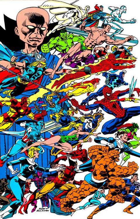 Marvel Heroes - Paul Ryan & Dan Bulanadi