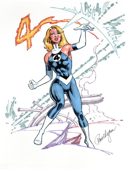 Sue Storm by Paul Ryan