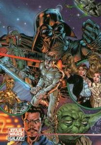 Topps Star Wars - J. Scott Campbell-Alex Garner