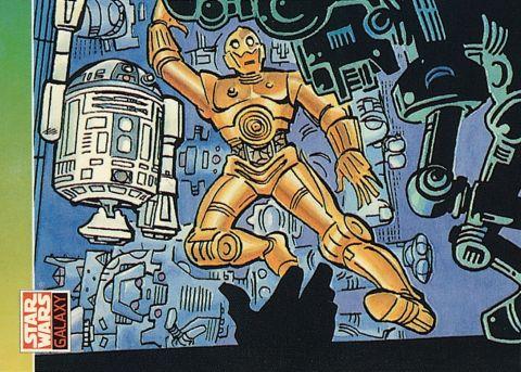 Topps Star Wars - Steve Ditko