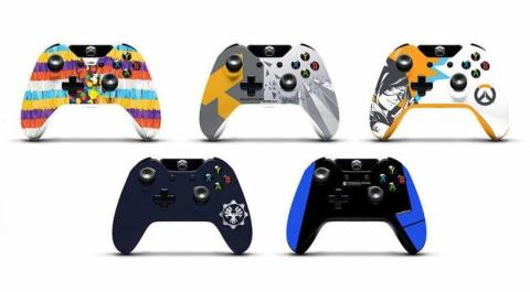 2016 PAX Xbox One controllers 02
