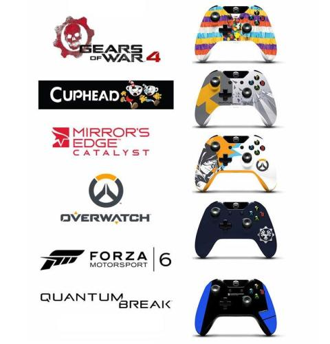2016 PAX Xbox One controllers 04
