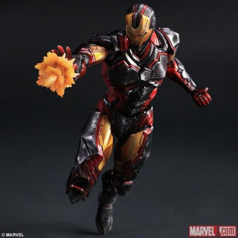 Iron Man  2 - Square Enix Play Arts Kay