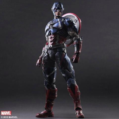 Captain America  - Square Enix Play Arts Kay
