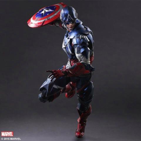 Captain America 2  - Square Enix Play Arts Kay