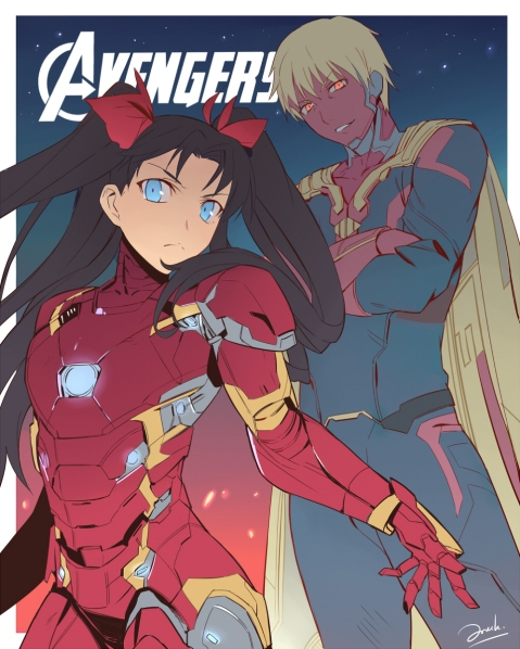 Avengers vs Fate by Knight's Edge (1)