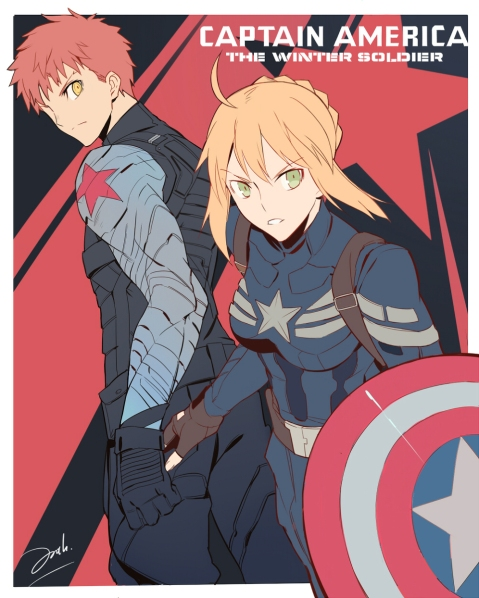 Avengers vs Fate by Knight's Edge (2)