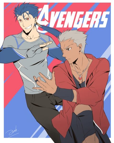 Avengers vs Fate by Knight's Edge (3)