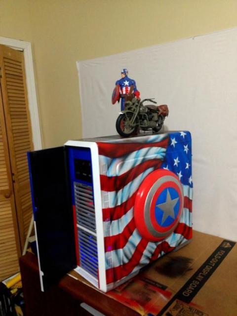 Captain America - Vic McGuire aka XcaliburFX