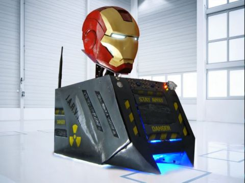 "Iron Man's Helmet - Franco ""Warboy"" Martinelli, Modders Inc."