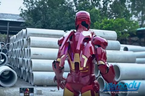 Iron Man 3 Mark VII Life sized- igh end Replica Costume 04