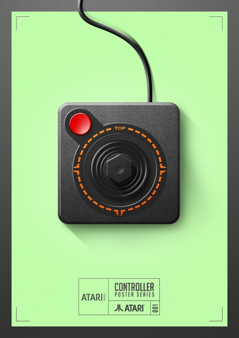Atari - Controller Poster Series by Behance