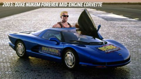 Duke Nukem Forever Cerv III Corvette (3D realms, 2003)