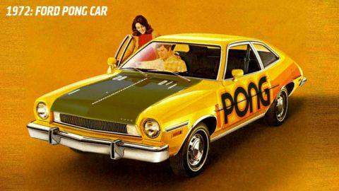 Ford Pinto Pong (Atari, 1972)